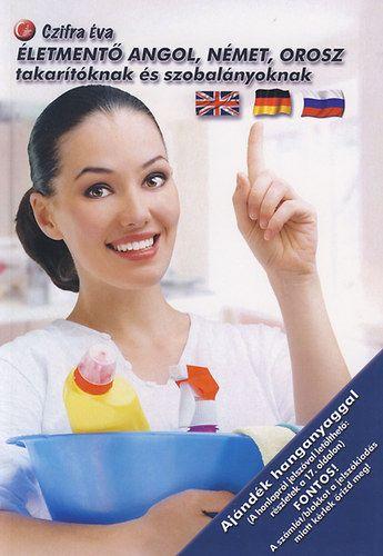 Életmentő angol, német, orosz takarítóknak és szobalányoknak