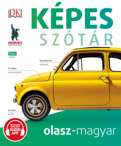 Képes szótár olasz-magyar (audio alkalmazással)