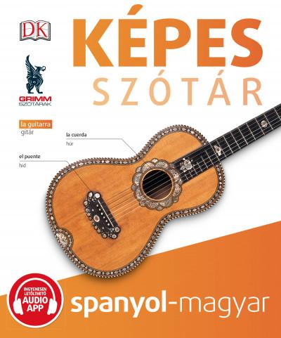 Képes szótár spanyol-magyar (audio alkalmazással)
