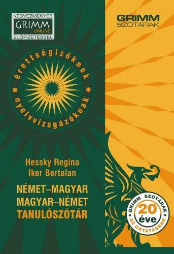Német-magyar, magyar-német tanulószótár