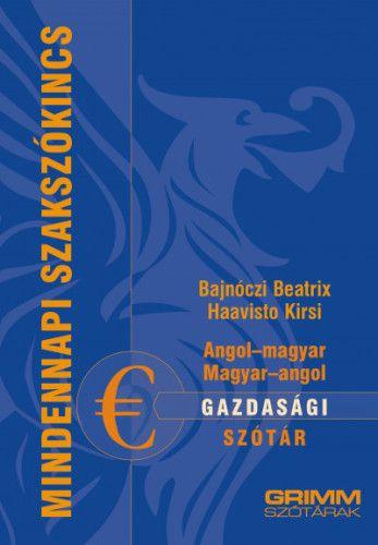 Angol-magyar, magyar-angol gazdasági szótár