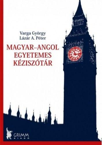 Magyar-angol egyetemes kéziszótár -  pdf epub