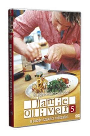 Jamie Oliver 5. - Oliver visszatér - DVD