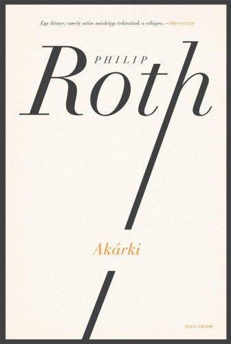 Akárki - Philip Roth pdf epub