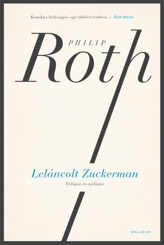 Leláncolt Zuckerman - Philip Roth pdf epub