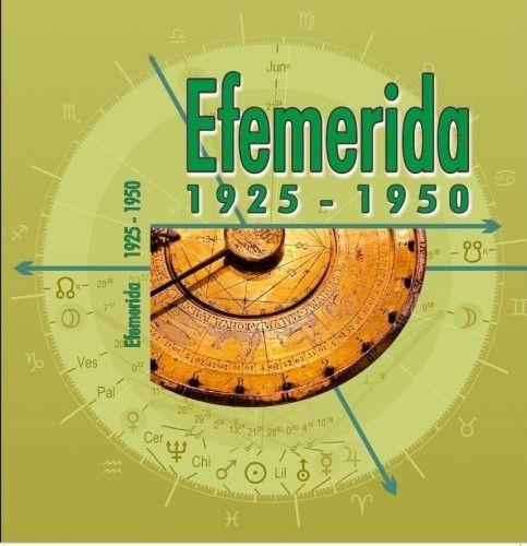 Efemerida 1925-1950 -  pdf epub