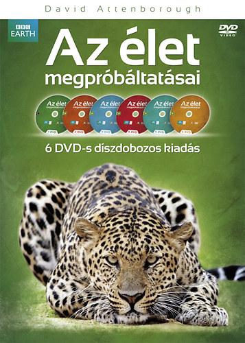BBC Az élet megpróbáltatásai díszdoboz - DVD