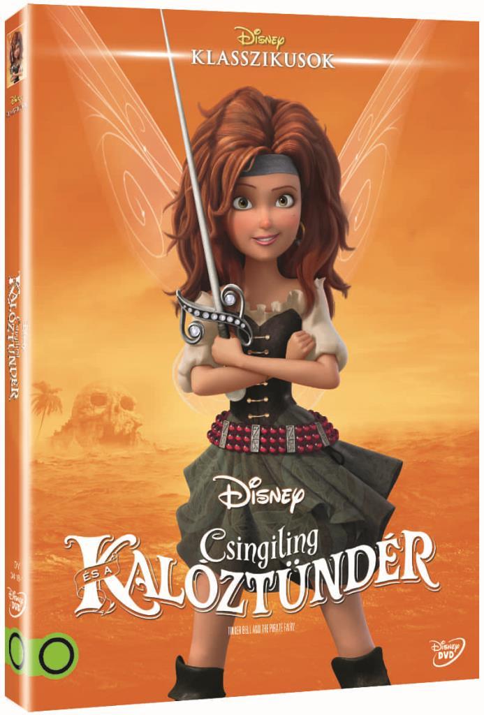 Csingiling és a kalóztündér (O-ringes, gyűjthető borítóval) - DVD