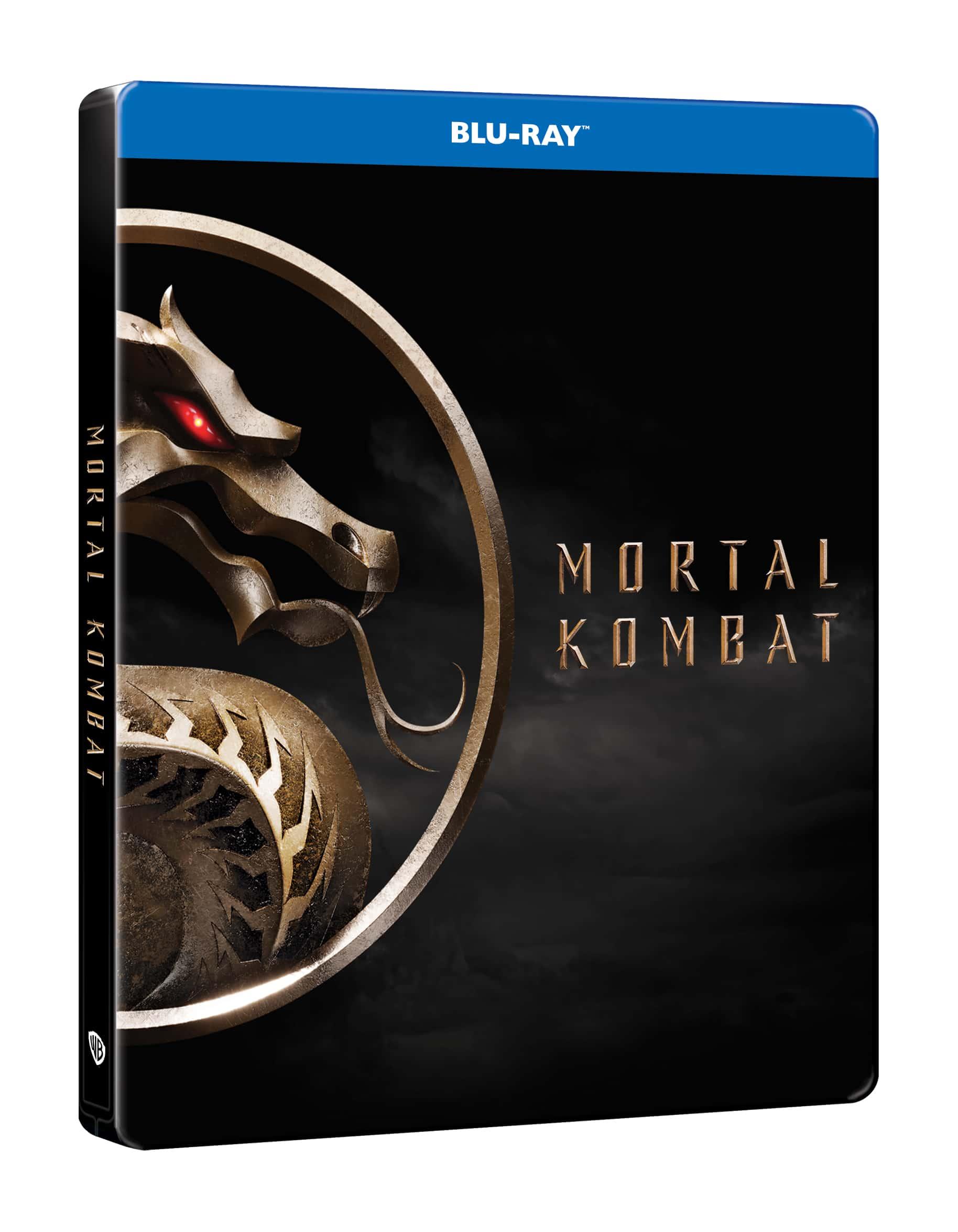 Mortal Kombat (2021) - limitált, fémdobozos változat (steelbook) - Blu-ray