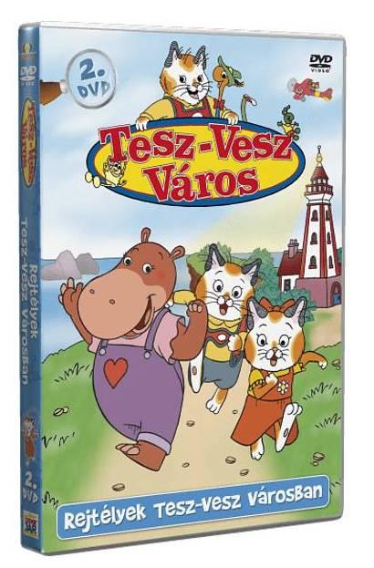 Tesz-Vesz város 2. - DVD