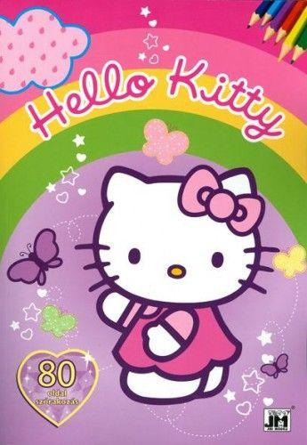 Hello Kitty - A4 80 oldalas színező -  pdf epub