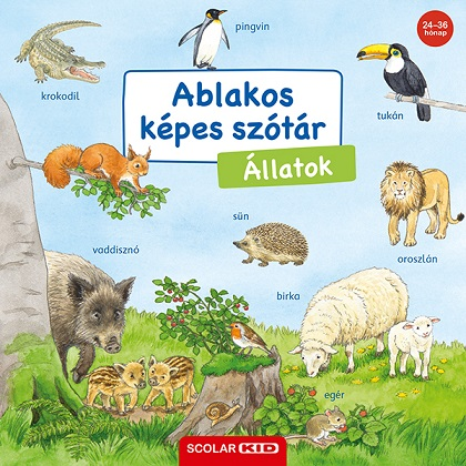Ablakos képes szótár - Állatok