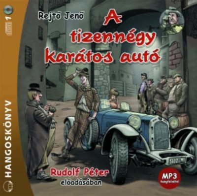 A tizennégy karátos autó - Hangoskönyv - MP3