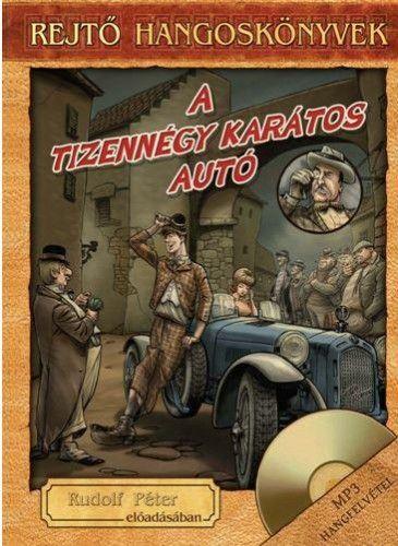 A tizennégykarátos autó - Könyv + Hangoskönyv