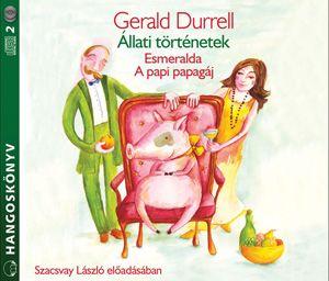 Gerald Durrell - Állati történetek - Hangoskönyv