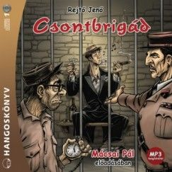 Csontbrigád - Hangoskönyv - MP3