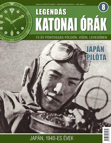 Legendás katonai órák 8. - Japán pilóta -  pdf epub