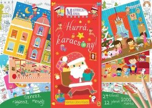 Hurrá, karácsony! - Matricamánia - Nicolas Schott pdf epub