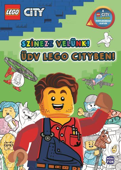 LEGO City - Színezz velünk! - Üdv Lego Cityben!