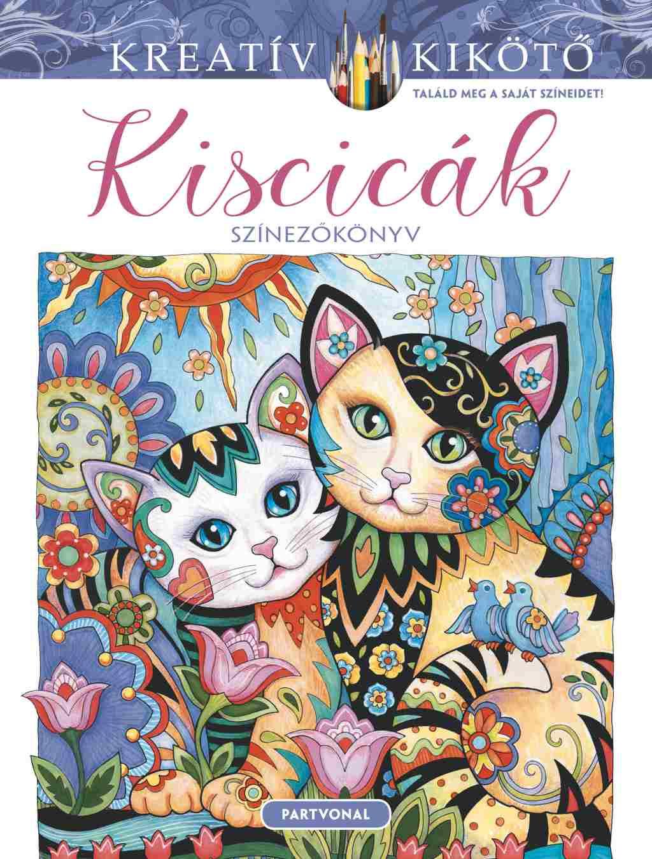 Kiscicák - Színezőkönyv