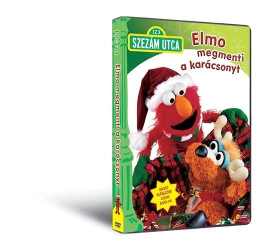Szezám utca - Elmo megmenti a karácsonyt - DVD