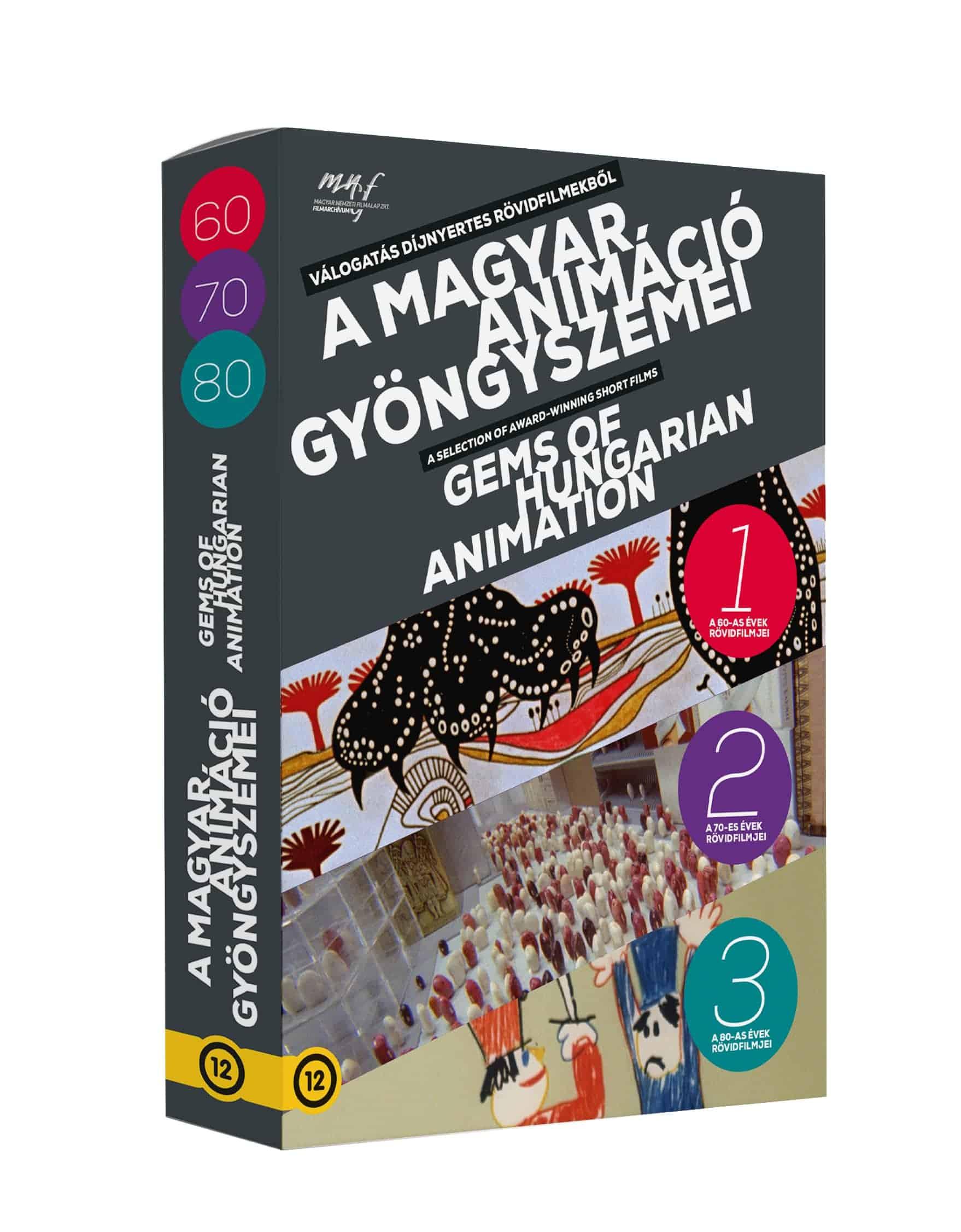 A magyar animáció gyöngyszemei (3 DVD) (MNFA kiadás)