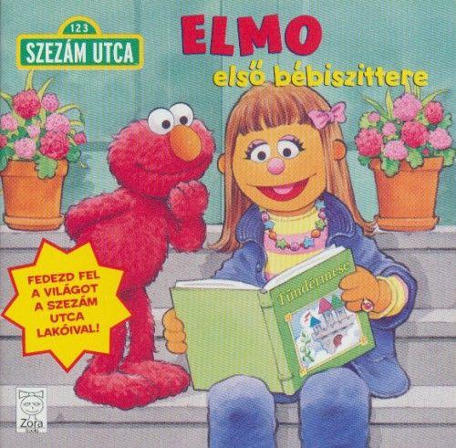 Szezám utca - Elmo első bébiszittere -  pdf epub