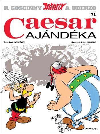 Asterix 21. - Caesar ajándéka