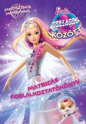 Barbie csillagok között - Matricás foglalkoztatókönyv