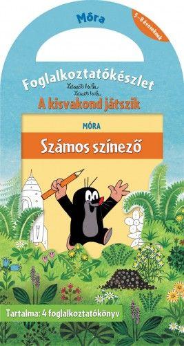 A kisvakond játszik - Foglalkoztatókészlet - Zdeněk Miler pdf epub