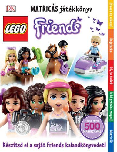 LEGO Friends - Matricás játékkönyv