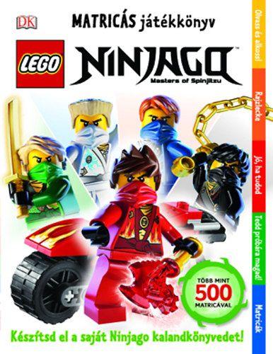 LEGO Ninjago - Matricás játékkönyv -  pdf epub