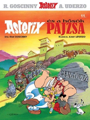 Asterix 11. - Asterix és a hősök pajzsa - René Goscinny pdf epub