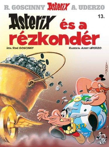 Asterix 13. - Asterix és a rézkondér - René Goscinny pdf epub