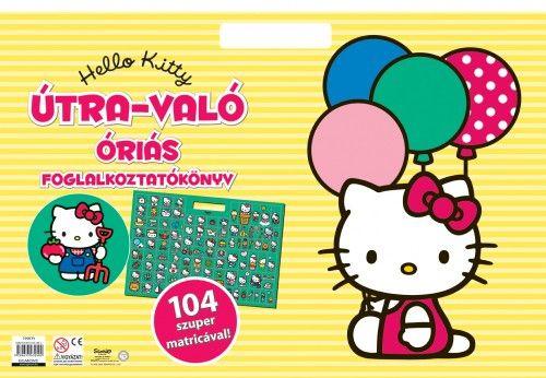 Hello Kitty - Útra-való óriás foglalkoztatókönyv