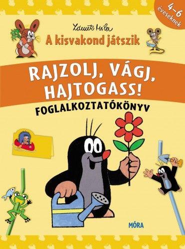 Rajzolj, vágj, hajtogass! - A kisvakond játszik - Foglalkoztatókönyv - Zdeněk Miler pdf epub