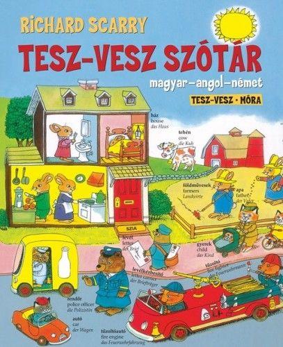 Tesz-Vesz szótár - Magyar-angol-német