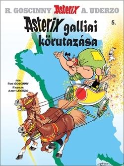 Asterix 5. - Asterix galliai körutazása - René Goscinny pdf epub