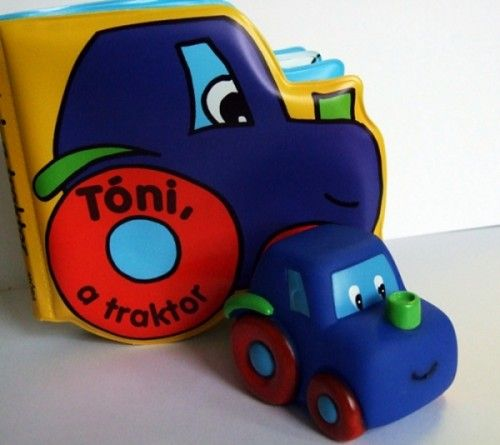 Tóni, a traktor - Móra könyvkiadó pdf epub