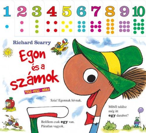 Egon és a számok - Richard Scarry |