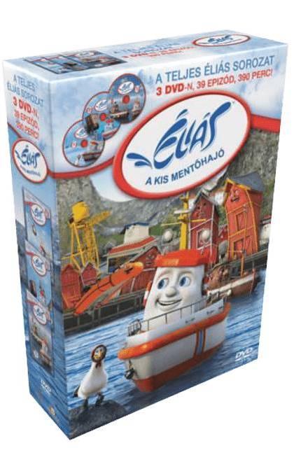 Éliás, a kis mentőhajó díszdoboz - DVD