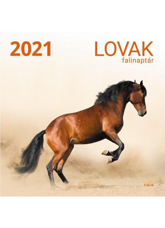 Lovak falinaptár - 2021