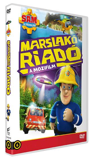 Sam, a tűzoltó - Marslakó riadó - DVD