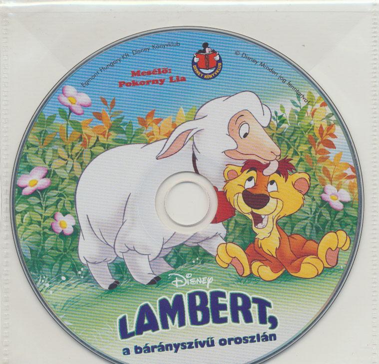 Lambert, a bárányszívű oroszlán - Hangoskönyv