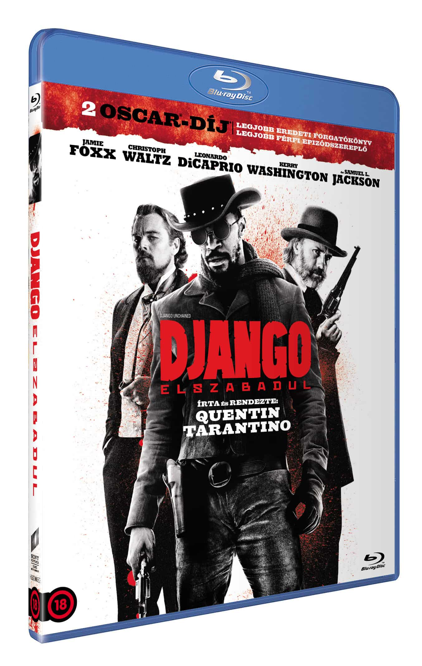 Django elszabadul - Blu-ray
