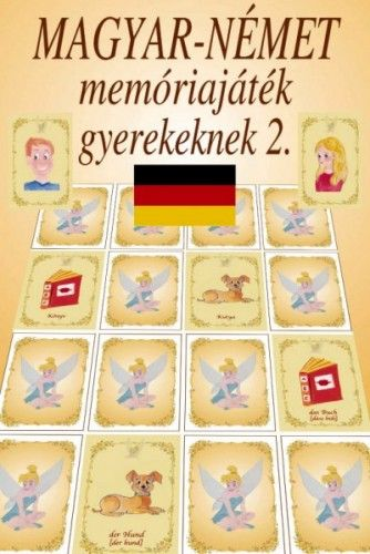 Magyar-német memóriajáték gyerekeknek 2. - Kiejtéssel