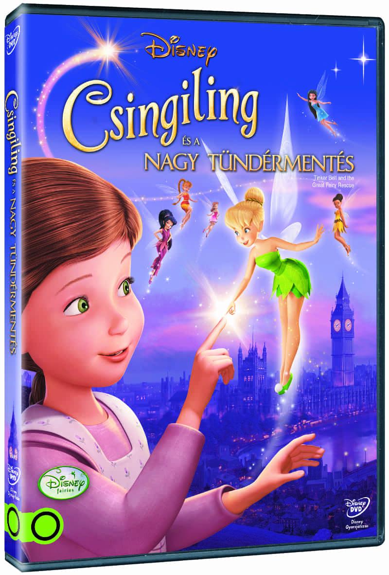 Csingiling és a nagy tündérmentés - DVD