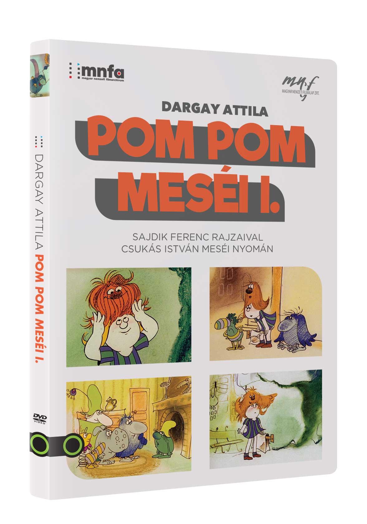 Pom Pom meséi I. - DVD