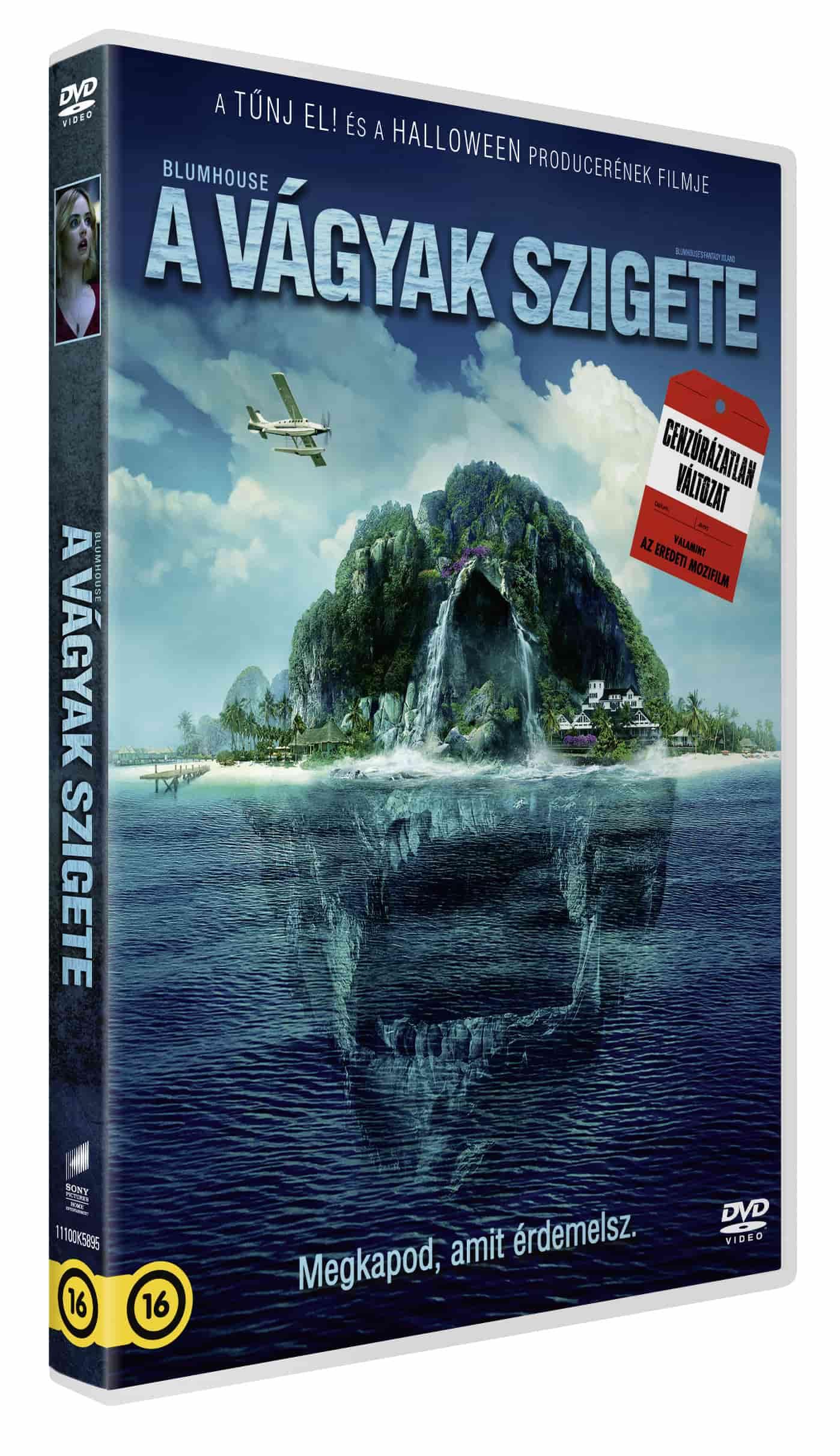 A vágyak szigete (mozi- és cenzúrázatlan változat) - DVD