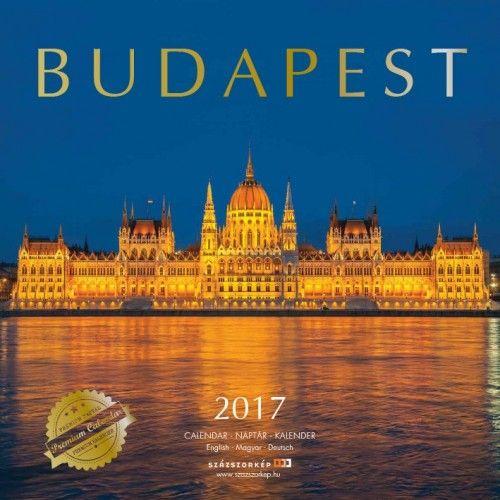 Budapest - 2017 - Premium falinaptár
